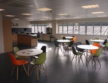 Canteen Refurbishement with bistro furniture