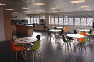 Canteen Refurbishement with bistro furniture