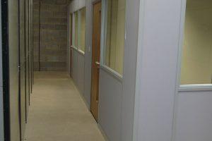 Factory office mezzanine floor
