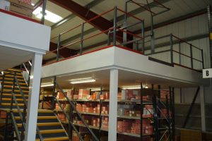 Split Warehouse Mezzanine Floor