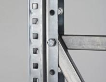 Galvanised Longspan Shelving Upright