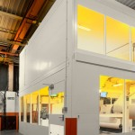 Steel Partitioning Enclosure Project For Kodak in Leeds