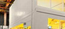Steel Partitioning Enclosure Project For Kodak in Leeds