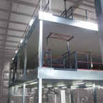 Elland's Exertis Advent Rise To The Challenge With Multi-tier Mezzanine