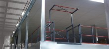 Elland's Exertis Advent Rise To The Challenge With Multi-tier Mezzanine