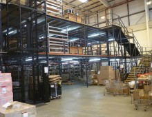 Multi-tier Warehouse Mezzanine Floor