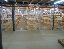 Two Tier Longspan Shelving System