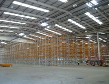 Pallet Racking used for storage