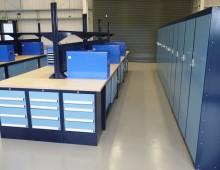 Storage workbenches