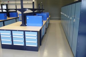 Storage workbenches