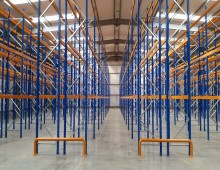 Narrow Aisle Racking in Warehouse
