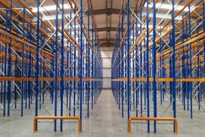 Narrow Aisle Racking in Warehouse