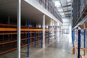 Large Warehouse Mezzanine Floor