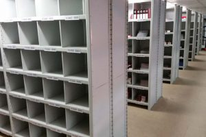 Shortspan warehouse steel euro shelving system