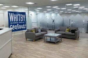 Glazed Office Reception Area