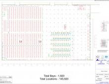 Warehouse Shelving Plan