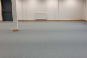 Office prior to partitions install