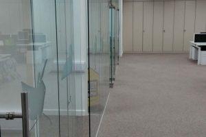 Office Storage Wall in Open Plan Office