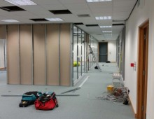 Work in progress partitioning