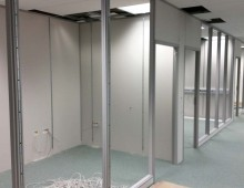 Office partitions works