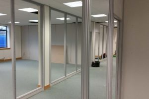 Leeds office partitions