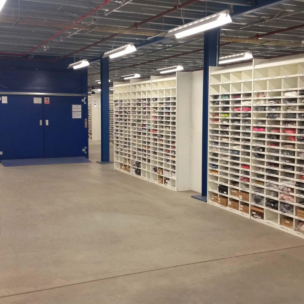 Retail Warehouse Shelving