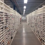 Internet Returns Shelving – Warehouse Shelving