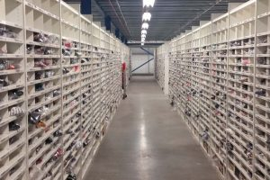 Warehouse Shelving Systems For Fashion Retailer