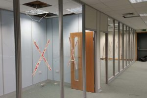 Office Partitions Leeds Project
