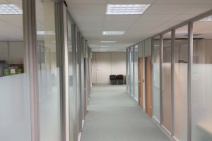 Office Partitions corridor