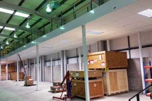 Fire Rated Mezzanine Floor underside