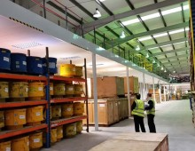 Large fire rated mezzanine floor in Leeds