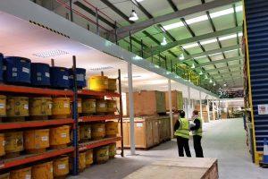 Large fire rated mezzanine floor in Leeds