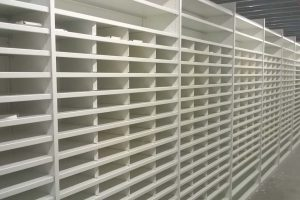 Warehouse returns shelving bays