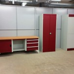 Bott Workbench and cabinet