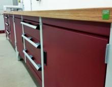 Storage Workbench close up