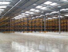 Warehouse Pallet Racking Installation