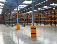 Warehouse Collumn Protection