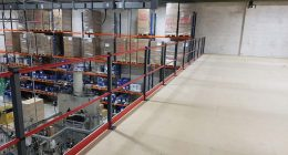 350m2 Fire Rated Mezzanine Floor Installed For Sika Everbuild in Leeds