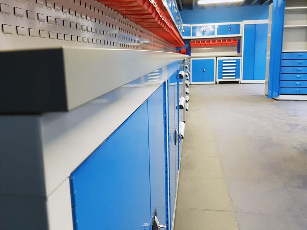 Uk Manufactured Workshop Cabinets And Steel Storage Cupboards