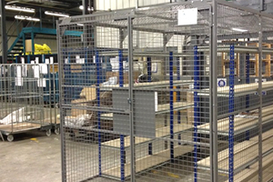 The Uses & Benefits Of Mesh Cages In The Warehouse